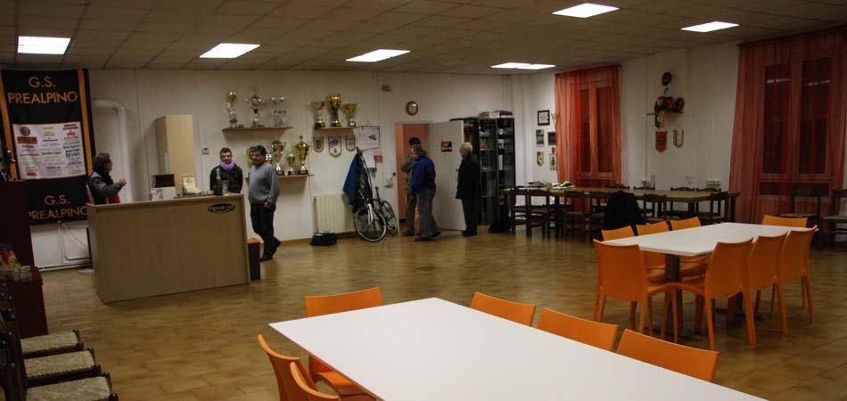 scorcio sede sociale società ciclistica Prealpino - Besnate (Varese)