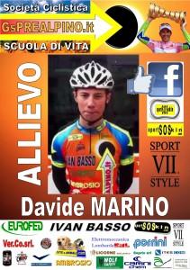 ALBUM PREALPINO ALLIEVO MARINO Davide