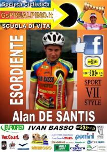 ALBUM PREALPINO ESORDIENTE DE SANTIS Alan
