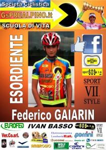 ALBUM PREALPINO ESORDIENTE GAIARIN Federico