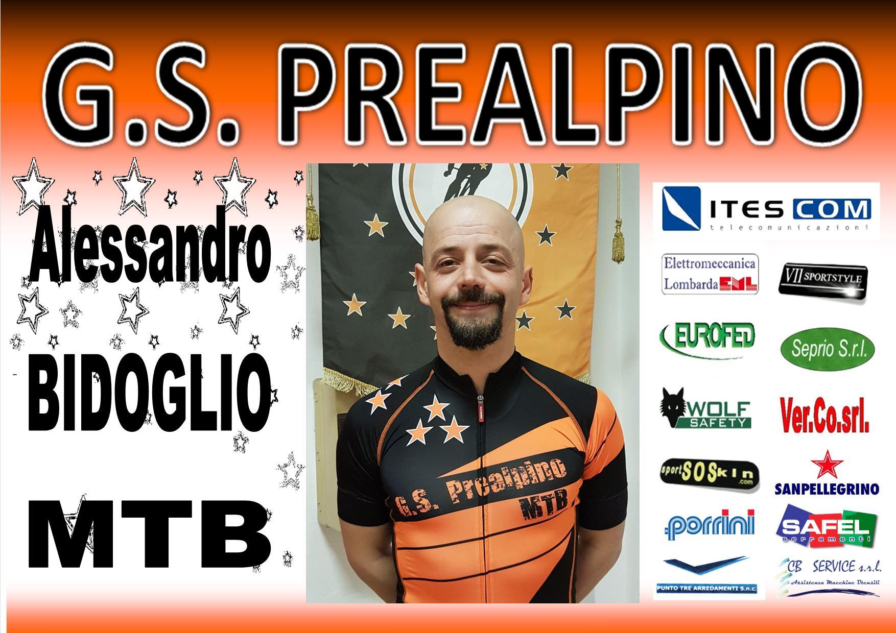 ALESSANDRO BIDOGLIO MTB PREALPINO 2017