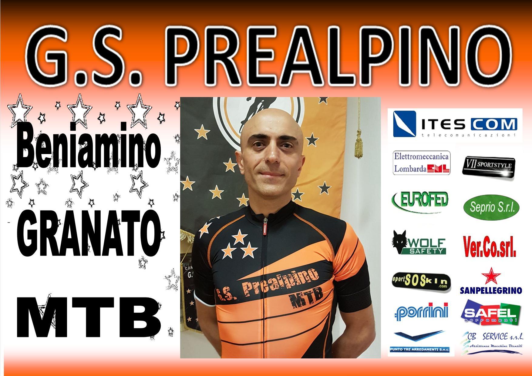 BENIAMINO GRANATO MTB PREALPINO 2017
