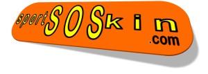 LOGO SPOSRSOSKIN ARANCIONE STECCO